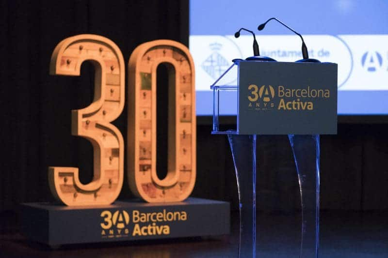 Acte De Celebració Dels 30 Anys De Barcelona Activa