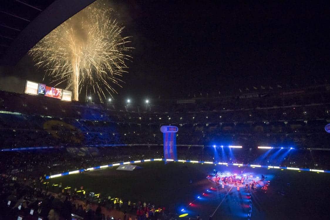 Celebració de la lliga 2017/2018 – FCBarcelona